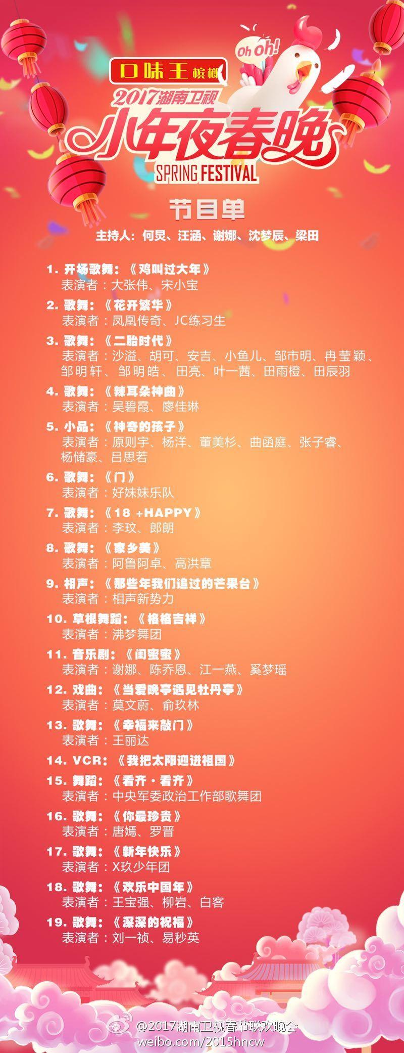 2018湖南卫视春节联欢晚会 剧照1